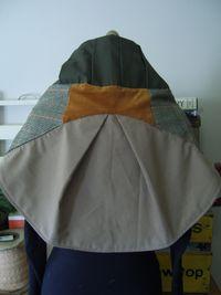 Forrest cape back