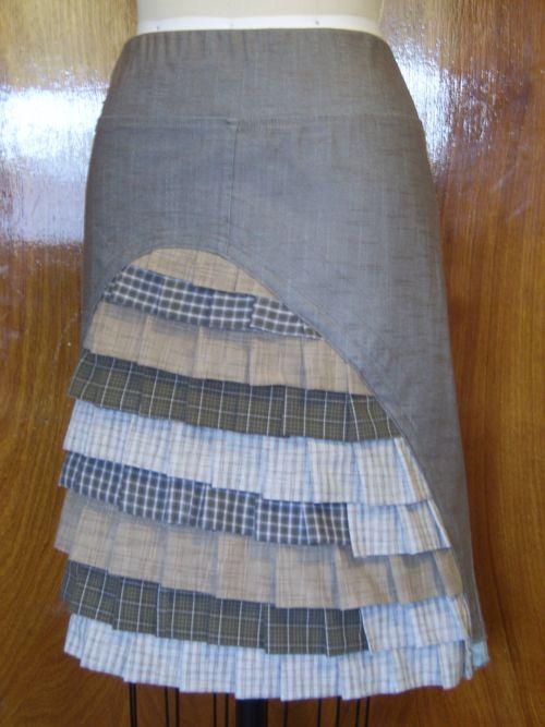 Spring forest skirt