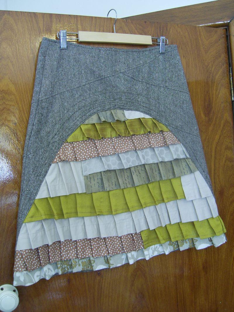 Peacock skirt 018